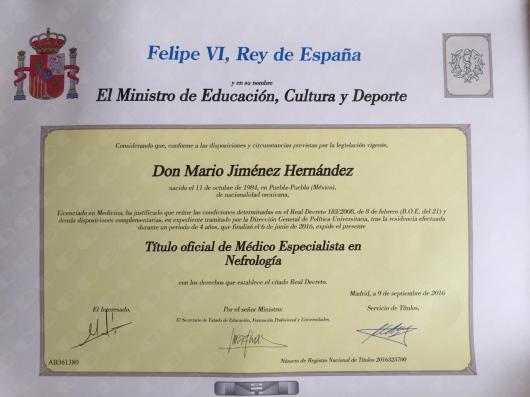 Mario Jiménez Hernández - Multimedia