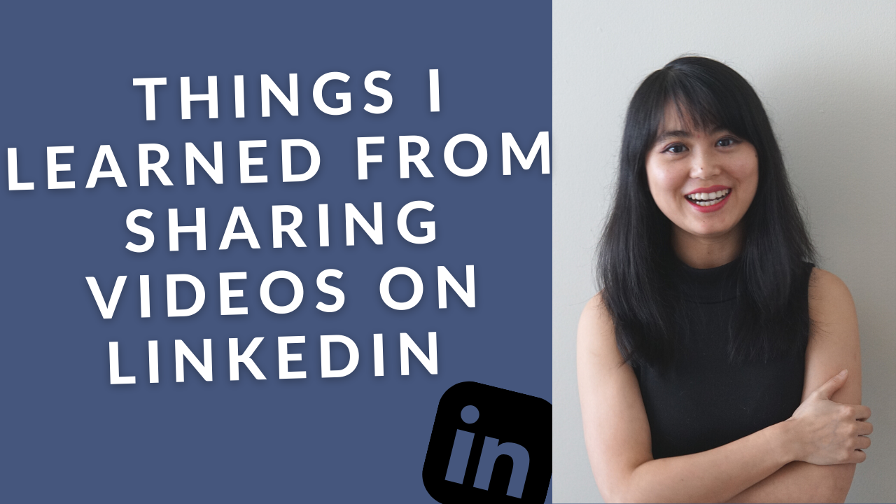 Things i learned from sharing videos on linkedin