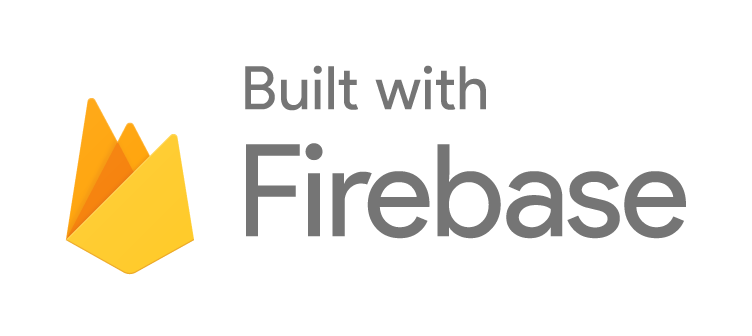 Firebase logo built white