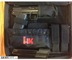 HK USP 45 TACTICAL with extras