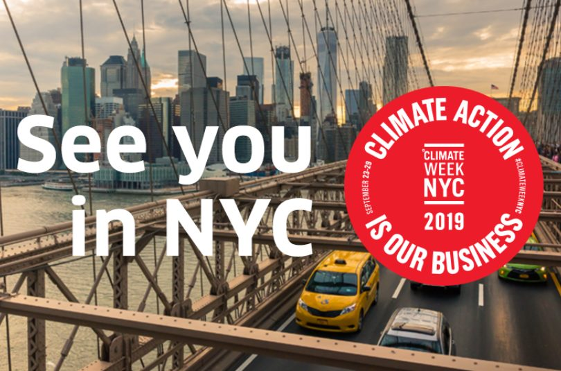 Climate Week 2019 – Highlights and Insights from NYC