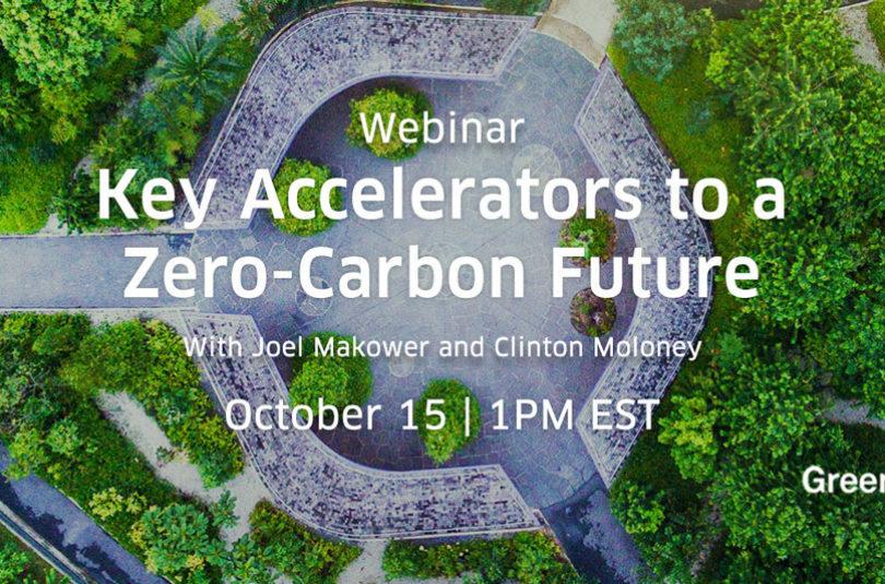 Key Accelerators to Achieving a Zero-Carbon Future