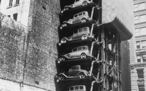 Old Stacked Car Parking 2