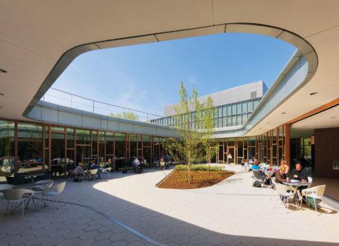 0521 Dickinson Courtyard