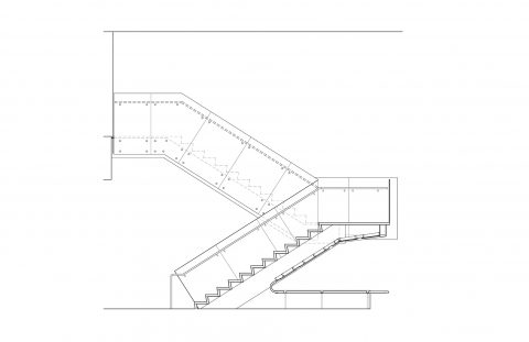 Zucker Detail Stair Section
