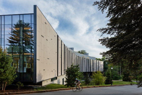 Bridge For Laboratory Sciences Campus Entrance © Richard Barnes