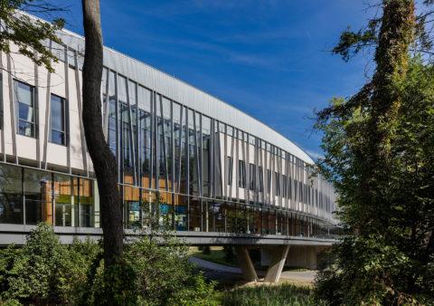 Bridge For Laboratory Sciences Southeast Exterior © Richard Barnes