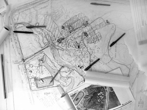 1222 Yaddo Working Session Sketches Bw