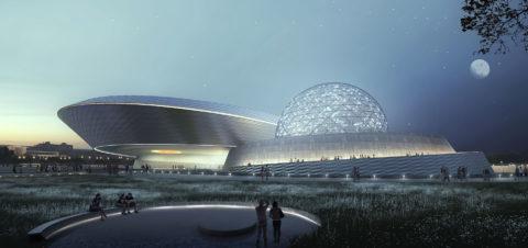 1419 Shanghai Planetarium Exterior