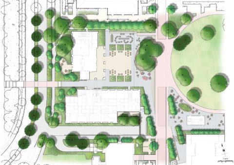 1434 Bass Bio Site Plan
