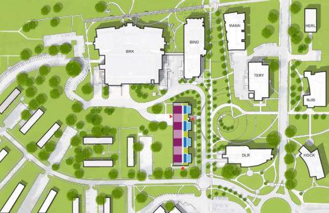1507 Flex Lab Color Site Plan