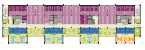 1507 Flex Lab Plan Level 3 Cropped