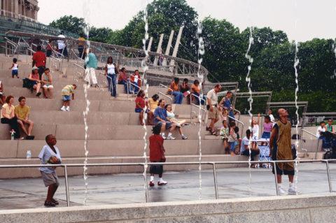 9910 Brooklyn Entry Fountain