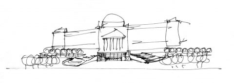 9910 Brooklyn Entry Sketch2