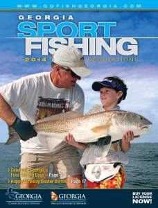 2014 Georgia Sport Fishing Regulations Guide - the official guide from the Georgia Wildlife Resources Division