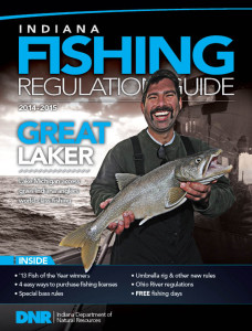 2014 Indiana Fishing Regulations - The Official Guide from The Indiana Department of Natural Resources