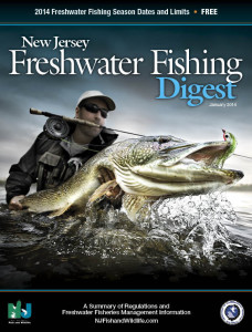2014 New Jersey Freshwater Fishing Digest - The Official Regulations from the Division of Fish and Wildlife