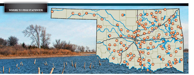 Where to Fish Statewide