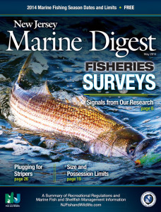 2014 New Jersey Marine Digest | The Official Regulations from the New Jersey Division of Fish and Wildlife