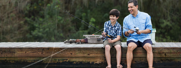 Fishing & Basic Boating Skills Camps