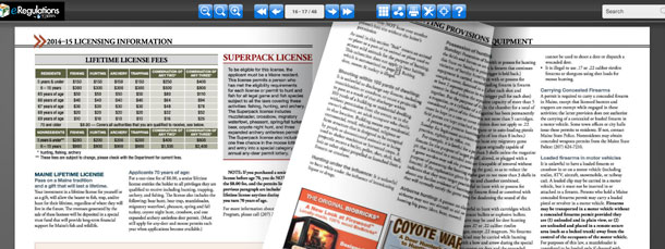 Page Through the Digital Edition