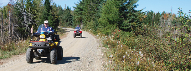 ATVs in Maine