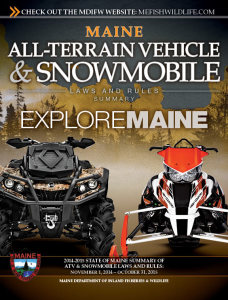 2014 Maine ATV and Snowmobile Rules and Regulations