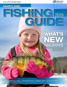 2015 Maryland Fishing Guide