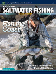 2015 Saltwater Fishing Guide from the New Hampshire Fish and Game Department