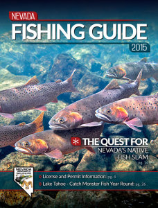 2015 Nevada Fishing Guide