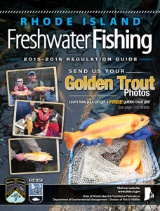 2015 Rhode Island Freshwater Fishing Regulations