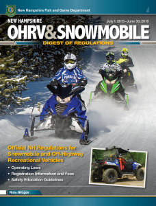 2015 New Hampshire OHRV & Snowmobile Digest