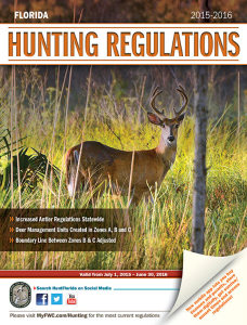 2015 Florida Hunting Regulations