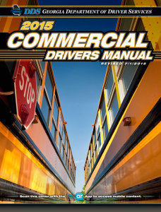 Georgia Commercial Drivers Manual - The Official Manual from the Georgia Department of Driver Services