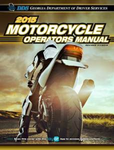 Georgia Motorcycle Operators Manual - The Official Manual from the Georgia Department of Driver Services