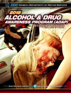 Georgia Alcohol & Drug Awareness Program (ADAP) Student Manual | The official ADAP manual from the Georgia Department of Driver Services