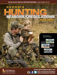 2015 Georgia Hunting Seasons and Regulations