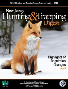 The Official 2015-2016 New Jersey Division of Fish and Wildlife Hunting and Trapping Digest