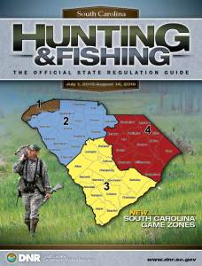 2015-2016 South Carolina Hunting and Fishing Guide | The Official Hunting and Fishing Regulations from the South Carolina Department of Natural Resources