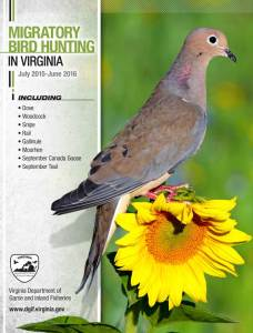 2015 Virginia Migratory Bird Hunting Guide | The Official Migratory Bird Hunting Guide from  The Virginia Department of Game and Inland Fisheries