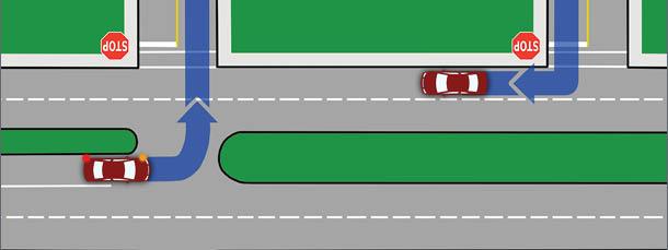 Turning, Lane Position, and Visual Skills