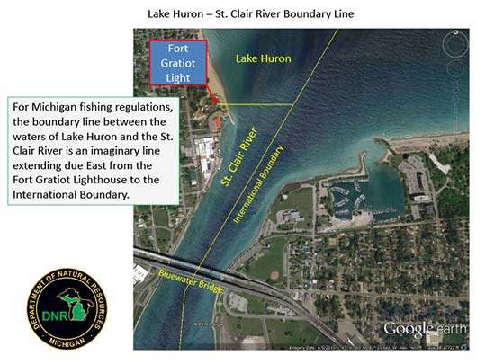 Boundary-line-Lake-Huron-St-Clair-River
