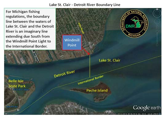 Boundary-line-Lake-St-Clair-Detroit-River