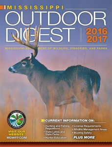 Mississipi Outdoor Digest 2016-2017 cover