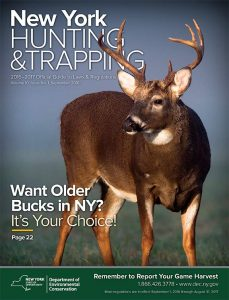 New York Hunting & Trapping Official Guide to Laws and Regulations 2016-2017 Cover