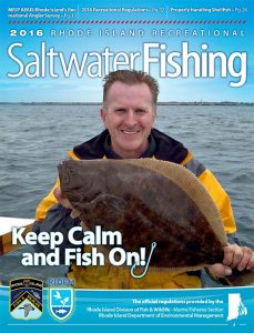 Rhode Island Recreational Saltwater Fishing 2016 Cover