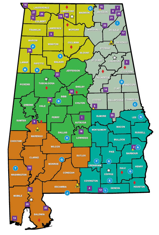 Alabama wma maps my blog for Alabama non resident fishing license