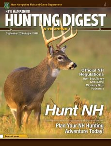 New Hampshire Hunting & Trapping Digest 2016-2017 cover