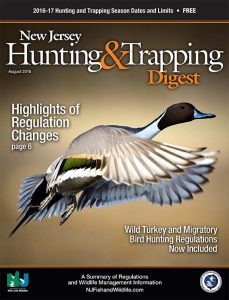 New Jersey Hunting & Trapping Digest 2016-2017 cover