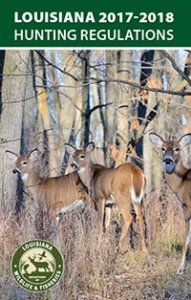 Louisiana Hunting Regulations Cover